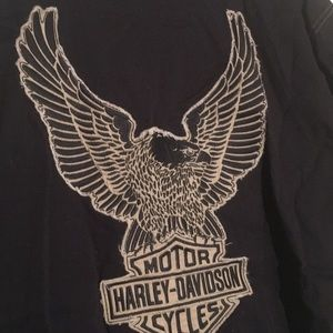 Harley-Davidson Shirts - Harley-Davidson Eagle Short Sleeve Shirt